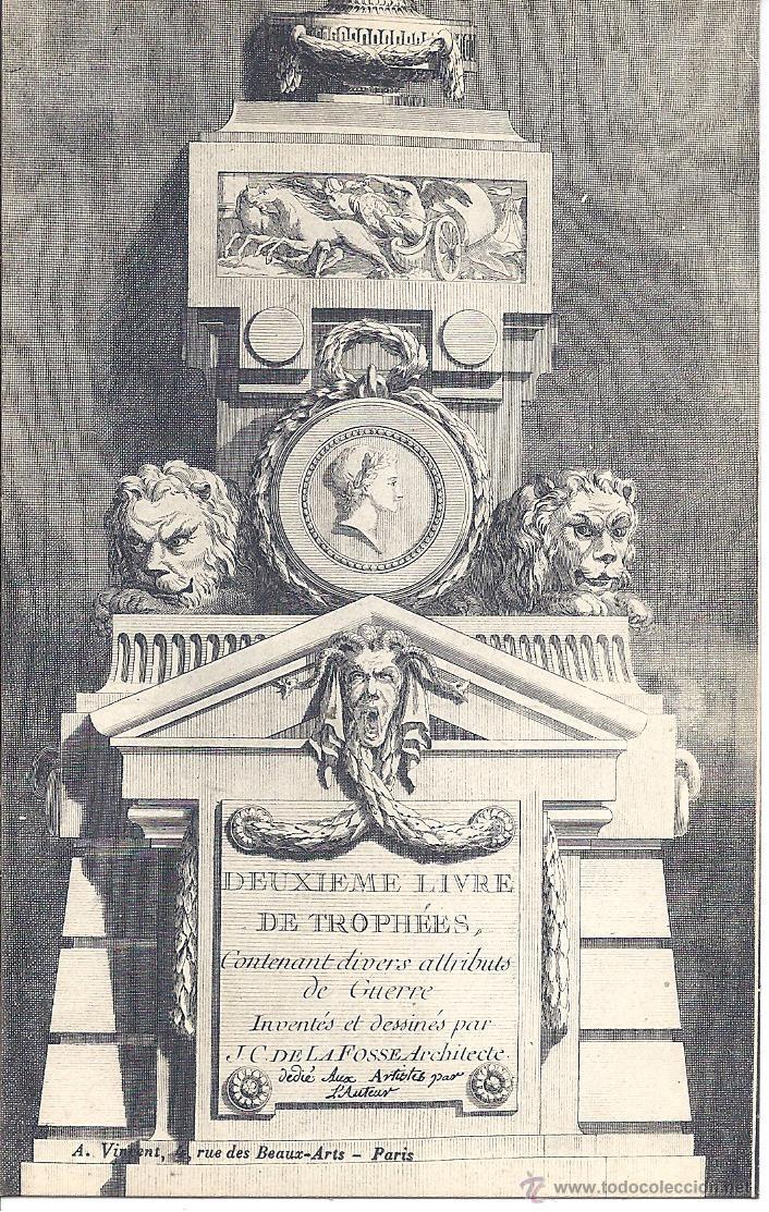 Postales: COLECCIÓN DE 493 POSTALES SOBRE ARQUITECTURA Y ELEMENTOS DECORATIVOS ANTIGUOS. FINALES S. XIX - Foto 15 - 195724651