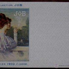 Postales: ANTIGUA POSTAL DE ILUSTRADORES CALENDRIER 1900 C. LEANDRE DE LA COLECCION JOB. DE CO. Lote 38261496