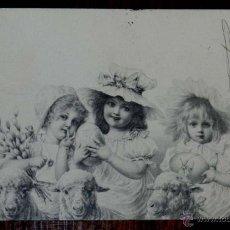 Postales: ANTIGUA POSTAL MODERNISTA DEL ILUSTRADOR, R. WICHERA, M. M. VIENNE CIRCULADA EN 1902, SIN DIVIDIR. Lote 38278658