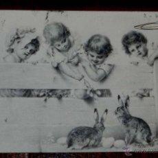 Postales: ANTIGUA POSTAL MODERNISTA DEL ILUSTRADOR, R. WICHERA, M. M. VIENNE CIRCULADA EN 1902, SIN DIVIDIR. Lote 38278659
