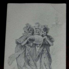 Postales: ANTIGUA POSTAL MODERNISTA DE ILUSTADOR, M. M. VIENNE, CIRCULADA EN 1902. Lote 38278777