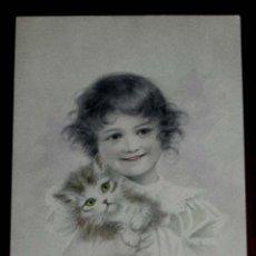 Postales: ANTIGUA POSTAL DEL ILUSTRADOR M. M. VIENNE, CIRCULADA EN 1902, SIN DIVIDIR. Lote 38278946