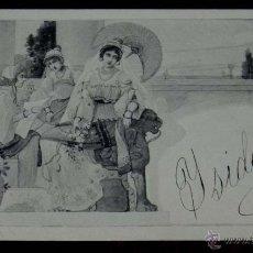 Postales: ANTIGUA POSTAL MODERNISTA, ESTILO ART NOUVEAU, VIENNOISE, ILLUSTRATEUR, M. M. VIENNE, CIRCULADA EN 1. Lote 38278954