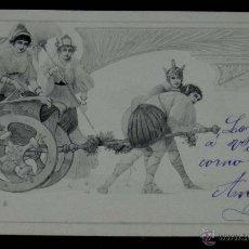 Postales: ANTIGUA POSTAL MODERNISTA, ESTILO ART NOUVEAU, VIENNOISE, ILLUSTRATEUR, M. M. VIENNE, CIRCULADA EN 1. Lote 38278967