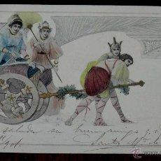 Postales: ANTIGUA POSTAL MODERNISTA, ESTILO ART NOUVEAU, VIENNOISE, ILLUSTRATEUR, M. M. VIENNE, CIRCULADA EN 1. Lote 38278972
