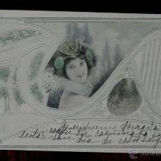 Postales: ANTIGUA POSTAL DE KIRCHNER RAPHAEL - M.M. VIENNE - CIRCULADA EN 1902, SIN DIVIDIR, NO FIRMADA, UNSIG. Lote 38278974