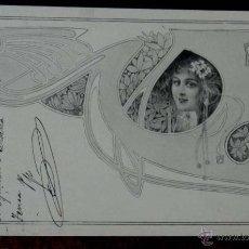 Postales: ANTIGUA POSTAL DE KIRCHNER RAPHAEL - M.M. VIENNE - CIRCULADA EN 1902, SIN DIVIDIR, NO FIRMADA, UNSIG. Lote 38278983