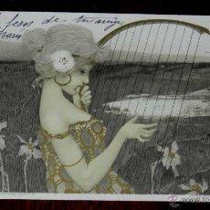 Postales: ANTIGUA POSTAL ILUSTRADOR ILLUSTRATEUR - RAPHAEL KIRCHNER SÉRIE 99 N. XI - CIRCULADA EN 1901 SIN DIV. Lote 38278987