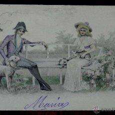 Postales: ANTIGUA POSTAL DE ILUSTRADOR M.M. VIENNE. CIRCULADA EN 1902, SIN DIVIDIR. Lote 38279454