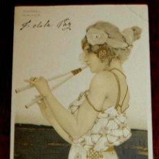 Postales: ANTIGUA POSTAL DE ILUSTRADOR KIRCHNER RAPHAEL - ART NOUVEAU - FEMME - SÉRIE N° 99 I STROEFERS, CIRC. Lote 38279469