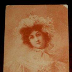 Postales: ANTIGUA POSTAL DE ILUSTRADOR, MODERNISTA, ART NOUVEAU, M. M. VIENNE, CIRCULADA EN 1902 SIN DIVIDIR,. Lote 38280107