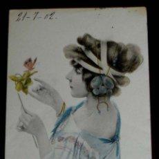 Postales: ANTIGUA POSTAL DE ILUSTRADOR TIPO KIRCHNER RAPHAEL NO FIRMADA, M. M. VIENNE , MODERNISTA, ART NOUVE. Lote 38280110