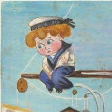 Postales: POSTAL FRANCESA. OIRIGINAL. FIRMADO A.L. 1922.. Lote 40449525