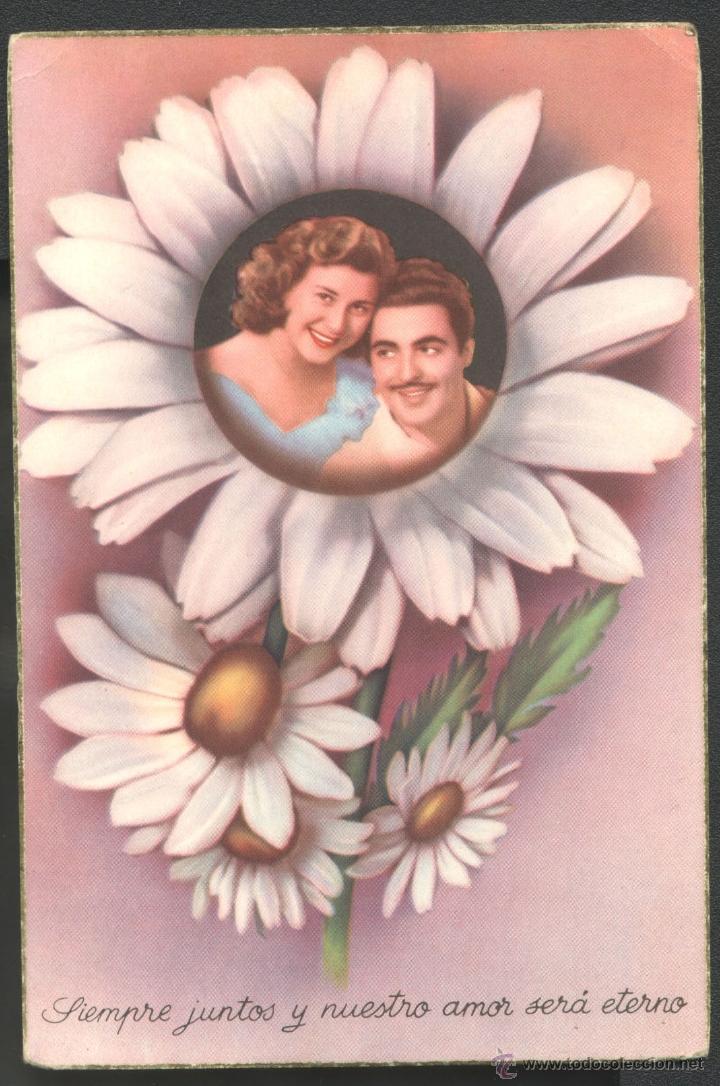 SIEMPRE JUNTOS... (1956) (Postales - Postales Temáticas - Dibujos originales y Grabados)