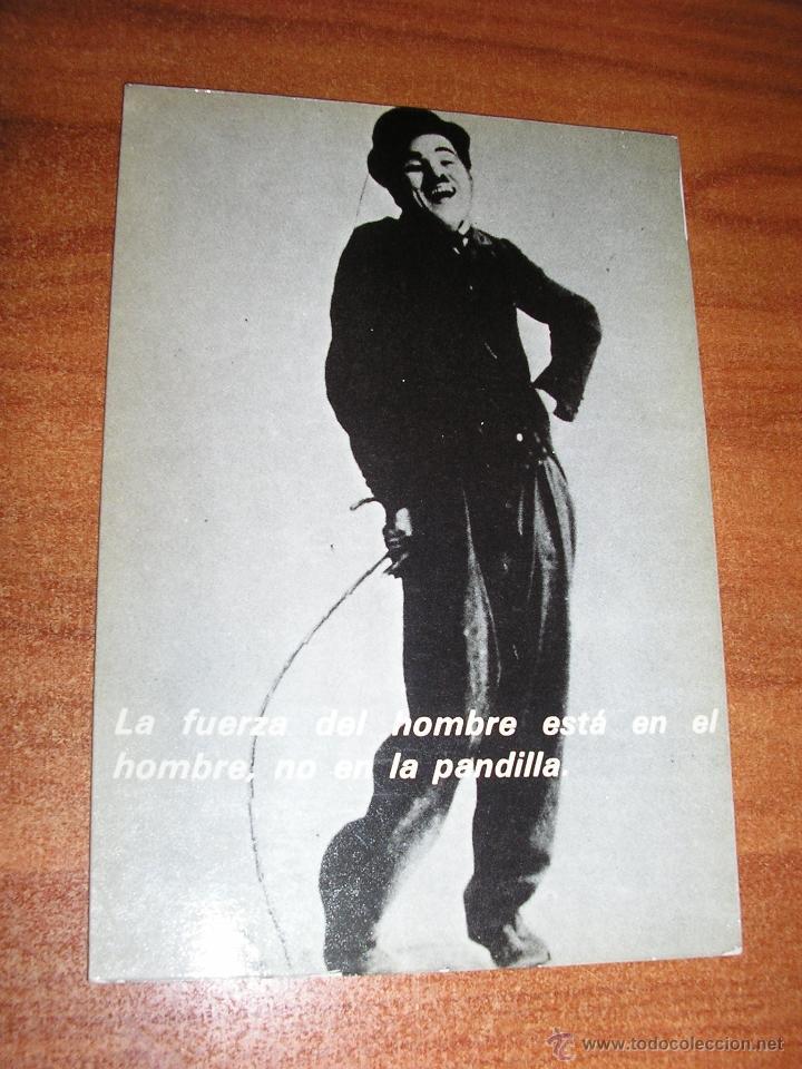CHARLOT-CHARLES CHAPLIN-1980 (Postales - Postales Temáticas - Dibujos originales y Grabados)