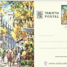 Postales: TARJETA POSTAL TEMATICA. ESPAÑA. BARCELONA. RAMBLA DE LAS FLORES.. Lote 42010468