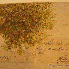 Postcards - POSTAL ORIGINAL PINTADA A MANO - 42414111
