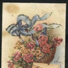 Postales: FELICIDADES (ILUSTRACION C. VIVES). Lote 43326787