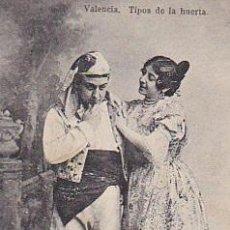 Postales: RRR POSTAL AÑOS 30 CIRCULADA EN 1940 - VALENCIA - TIPOS DE LA HUERTA - UNION POSTAL UNIVERSAL. Lote 44112587