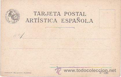 Postales: 1900 - POSTAL MUJERES ESPAÑOLAS - COLOREADA - BALEARES - TIPOGRAFIA PALACIOS - Foto 2 - 44112414