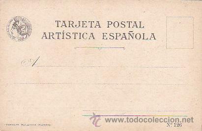 Postales: 1900 - POSTAL MUJERES ESPAÑOLAS - COLOREADA - LERIDA - TIPOGRAFIA PALACIOS - Foto 2 - 44112490