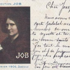 Postales: COLLECTION JOB CALENDRIER 1906 DUVOCELLE. Lote 44711663