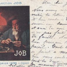 Postales: COLLECTION JOB CALENDRIER 1898 L. GRANER. Lote 44711679
