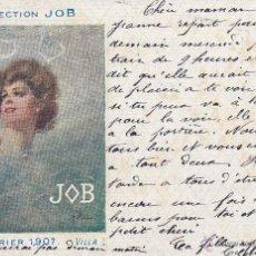 Postales: COLLECTION JOB CALENDRIER 1907 VILLA. Lote 44711691