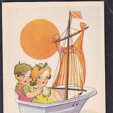 Postales: POSTAL INFANTIL ILUSTARDA SERIE 4. Lote 45047297