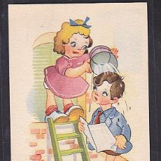 Postales: POSTAL INFANTIL ILUSTARDA SERIE 4. Lote 45047335