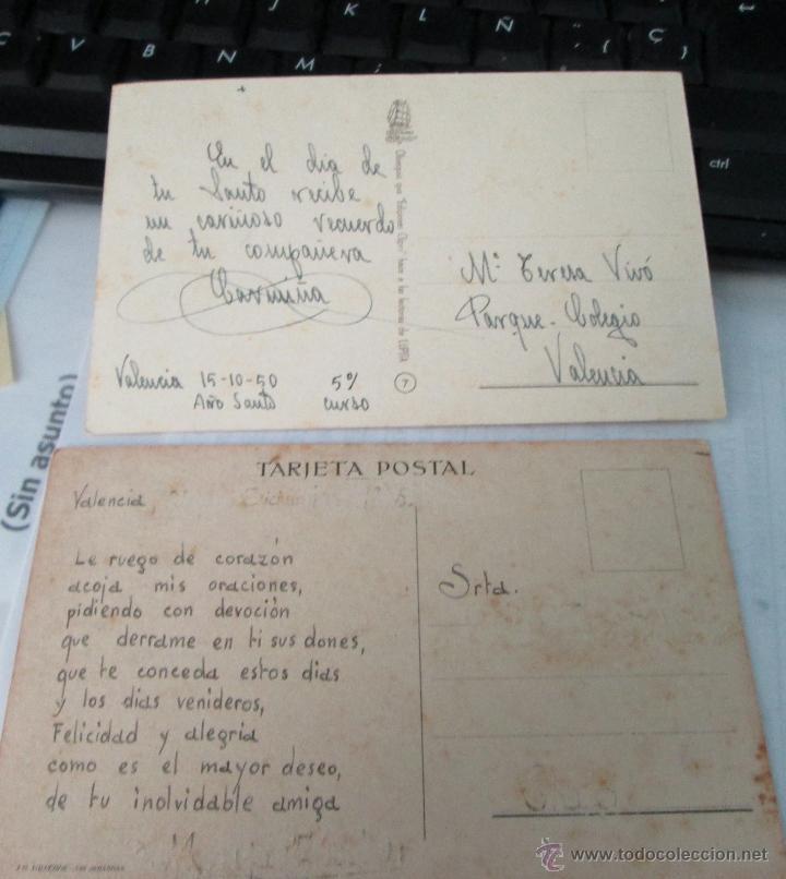 Postales: LOTE 2 POSTALES ORIGINALES ILUSTRADAS BOMBON Y OTRA POR J.B. AÑOS 50 - Foto 2 - 45560918