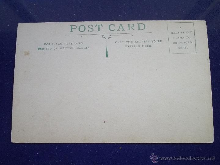 Postales: RARISIMA POSTAL GATO NEGRO PERRO PINTADA A MANO TINTA Y ACUARELA ORIGINAL 1900 - Foto 2 - 45574428