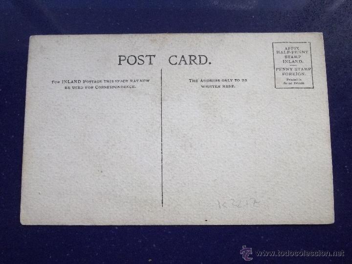 Postales: CURIOSA POSTAL ACUARELA TINTA CARICATURA PERSONAJE BOMBIN PATO BOLSO PARAGUAS PINTADA ORIGINAL XX - Foto 2 - 45574903