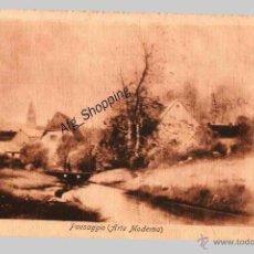 Postales: PAESAGGIO (ARTE MODERNA) - POSTAL ANTIGUA. Lote 47388004