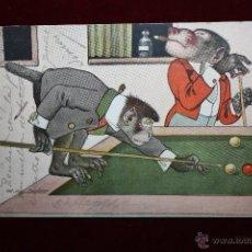 Postales: POSTAL HUMORISTICA DE LOS AÑOS 50-60. ANIMALES. CIRCULADA. Lote 47692934