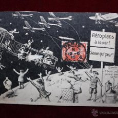 Postales: POSTAL HUMORISTICA DE MANUFACTURA FRANCESA. TITULADA FIN DU MONDE. CIRCULADA. Lote 48427616