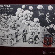 Postales: POSTAL HUMORISTICA DE MANUFACTURA FRANCESA. TITULADA FIN DU MONDE. CIRCULADA. Lote 48427624