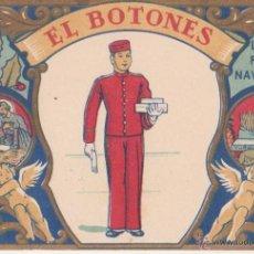 Postales: SECANTE FELICITACION EL BOTONES LES DESEA FELICES NAVIDADES ORIGINAL V.C.O.. Lote 49149518