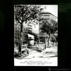 Postales: CENTENARI NARCÍS MUNTURIOL CASAS DEVESA ED LIMITADA CERCLE CARTÒFIL CATALUNYA POSTAL ORIGINAL. Lote 65419558
