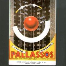 Postales: CORNELLA LLOBREGAT FESTIVAL PALLASOS ED LIMITADA CERCLE CARTÒFIL CATALUNYA POSTAL ORIGINAL. Lote 49744209