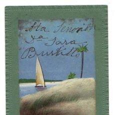 Postales: TARJETA POSTAL PINTADA A MANO. CIRCA 1905. Lote 50202888