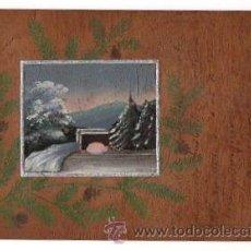 Postales: TARJETA POSTAL PINTADA A MANO. CIRCA 1905. Lote 50202969