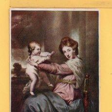 Postales: POSTAL DE DIBUJO DE GRAVADO INGLESA CIRCULADA DEL AÑO 1966 SELLO ROTO . Lote 50669491