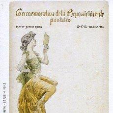 Postales: CERCLE CARTÒFIL DE CATALUNYA----CONMEMORATIVA DE LA EXPOSICIÓN DE POSTALES-1903. Lote 53263947