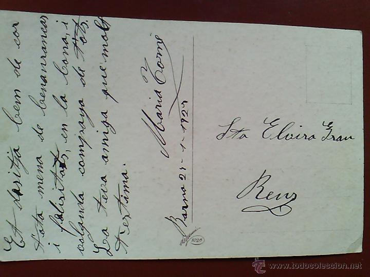 Postales: ANTIGUA POSTAL 1928 PINTADA ILUSTRA CORBALAN ( ILEGIBLE) DEGAUMI 1026 - Foto 2 - 53383786