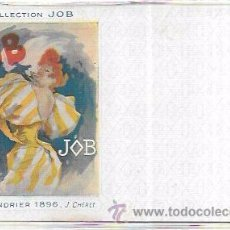 Postales: TARJETA POSTAL COLLECTION JOB. CALENDRIER 1896.. Lote 53950939