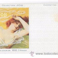 Postales: TARJETA POSTAL COLLECTION JOB. CALENDRIER 1896.. Lote 53950946
