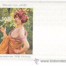 Postales: TARJETA POSTAL COLLECTION JOB. CALENDRIER 1896.. Lote 53950958