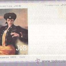 Postales: TARJETA POSTAL COLLECTION JOB. CALENDRIER 1896.. Lote 53950967