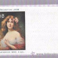 Postales: TARJETA POSTAL COLLECTION JOB. CALENDRIER 1896.. Lote 53950984